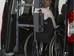 AMF-Bruns' FutureSafe head and backrest, shown here, is designed to help ensure passenger security in a collision.
