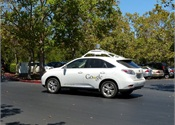 Google autonomous car strikes Calif. city bus