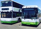 GreenPower delivers first 2 all-electric buses to Calif. city