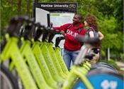 St. Paul, Minn. campus offers car-, bike-sharing services