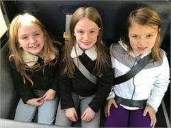 Starting last year, Henrico County Public Schools' newly purchased buses have three-point seat belts for students.