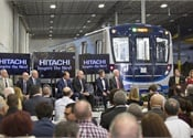 First Hitachi-made rail vehicles for Miami-Dade unveiled