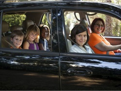 Local agencies, school districts, and child ridesharing service HopSkipDrive teamed up on a pilot to transport kids in foster care to their school of origin. Photo courtesy HopSkipDrive