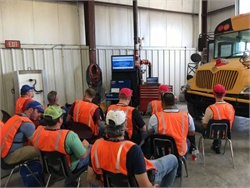 IC Bus recently completed the 11th edition of IC Bus University technician training at its bus plant in Tulsa, Oklahoma.