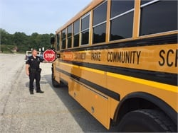 Indiana State Police Conduct 1st Round of School Bus Inspections