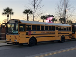 Integrity Student Transportation Services in Columbia, S.C., is one of many school bus contractors suffering a significant loss of business due to the COVID-19 pandemic. Photo courtesy Karim Johnson