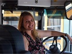 An Arizona high school senior wrote a letter to Jessica Palmer, his bus driver from his elementary school days. He recalled her positive attitude and how she protected him from bullying.