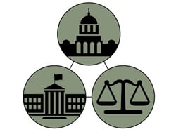 The legislative and judicial branches of government provide options for checks and balances in the heavily regulated school transportation industry.