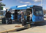Indy, Kansas City airport execs talk electric shuttle testing