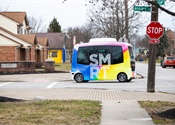 Columbus unveils nation's first public AV shuttle for residential area