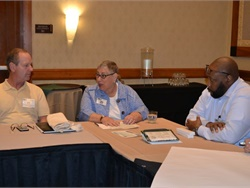 Special-needs expert Linda Bluth served as a roundtable moderator at SBX. She also gave a keynote speech in which she discussed U.S. Education Secretary Betsy DeVos, school choice, and potential impacts on pupil transportation.