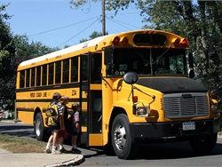 In the March 16 survey, 800 bus drivers reported they were passed a total of 404 times. When applied to over 50,000 school buses statewide, the total estimated illegal passing rate is 25,250 passes. Stock photo by Barry Johnson