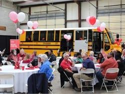 In Alabama, school bus dealership Transportation South held a Love the Bus awards luncheon on Feb. 14, and honored 35 school bus drivers.