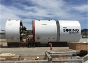 Musk unveils Boring Co.'s high-speed transportation tunnel