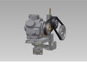 Proprietary compressor mount system