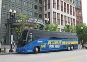 Delaware Express attends U.S. DOT's Earth Day Fair in MCI J4500