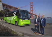 FlixBus tests long-range, 100% battery-electric MCI coach