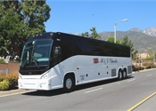 H & L Charters takes delivery of MCI J4500 won during UMA Expo