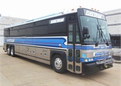 Laketran takes delivery of 10 MCI Commuter Coaches