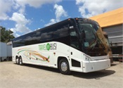 MCI delivers 5 J4500s to Miami's Travel By Bus!