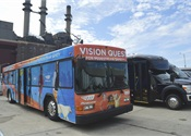 New collision avoidance technology for buses increases pedestrian, cyclist safety