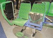 Split flip seats in gemini