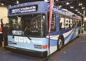 All-electric transit bus
