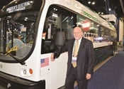 Battery-electric bus