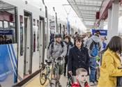 Light Rail Line Links Salt Lake City with Airport
