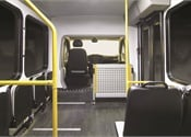 New Lowered-Floor Minibus Combines Style, Passenger Accessibility