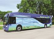 New Flyer, DesignLine discuss electric bus offerings