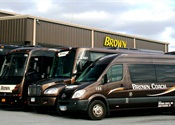 Diverse Fleets, Skills and Services Help Brown Coach Stay Ahead