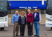 Safety, Sustainability Help Vandalia Bus Lines Stand Tall