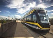 Dallas Streetcar Connects Commuters to City Center