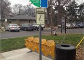 IndyGo recycles stadium seats for bus stops