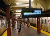 NYC Transit Uses New Tech, Tests Real-Time Train Arrival