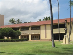 The awarding of new school bus contracts on Maui and Kauai culminates the Hawaii DOE's Get on Board initiative. Seen here is Baldwin High School on Maui.