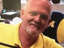 Mike Westbrook, who passed away of a heart attack on Jan. 19, had worked for Portage (Mich.) Public Schools since 2002. Photo courtesy Portage Public Schools