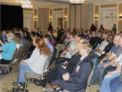 Sessions at the upcoming NAPT Summit in Kansas City will cover such topics as school bus technology, budgets, safety, and security. Seen here is the 2015 Summit.