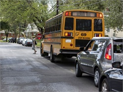 A NHTSA report shows that most child fatalities in school-transportation-related crashes take place outside of the bus or in other vehicles.