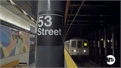 [Video] NY MTA Enhanced Station Initiative: 53 St. Station Opening