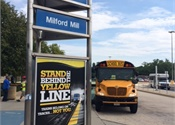 National Express shuttles Baltimore commuters during subway work