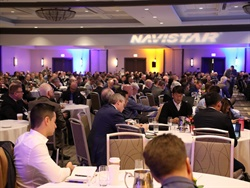 IC Bus parent company Navistar recently recognized 20 of its top-performing suppliers with its annual Diamond Supplier Award. Photo courtesy Navistar