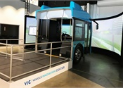 New Flyer unveils electric bus simulator
