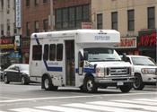 N.Y. paratransit driver saves disabled passenger from blaze