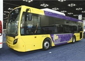 The New Flyer MiDi, available in 30- and 35-foot lengths, is a medium-sized, low-floor bus that is ideal for use in transit, community shuttle services, and for connecting passengers to high-frequency transit routes.