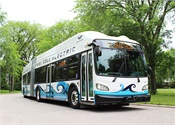 New Flyer's 60-foot electric bus to be first to undergo Altoona Testing