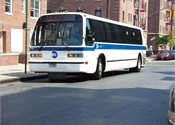 New York MTA bus ridership down