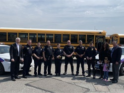 Suffolk Transportation Service, a NYSBCA member, hosted Operation Safe Stop events throughout New York state. Photo courtesy Suffolk Transportation Service