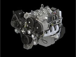 Navistar has extended its engine supply agreement with alternative-fuel power systems supplier Power Solutions International Inc. to run through 2021. Shown here is the Power Solutions International 8.8L V8 engine.